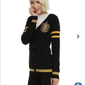 Hufflepuff sweater sz Sm Harry Potter